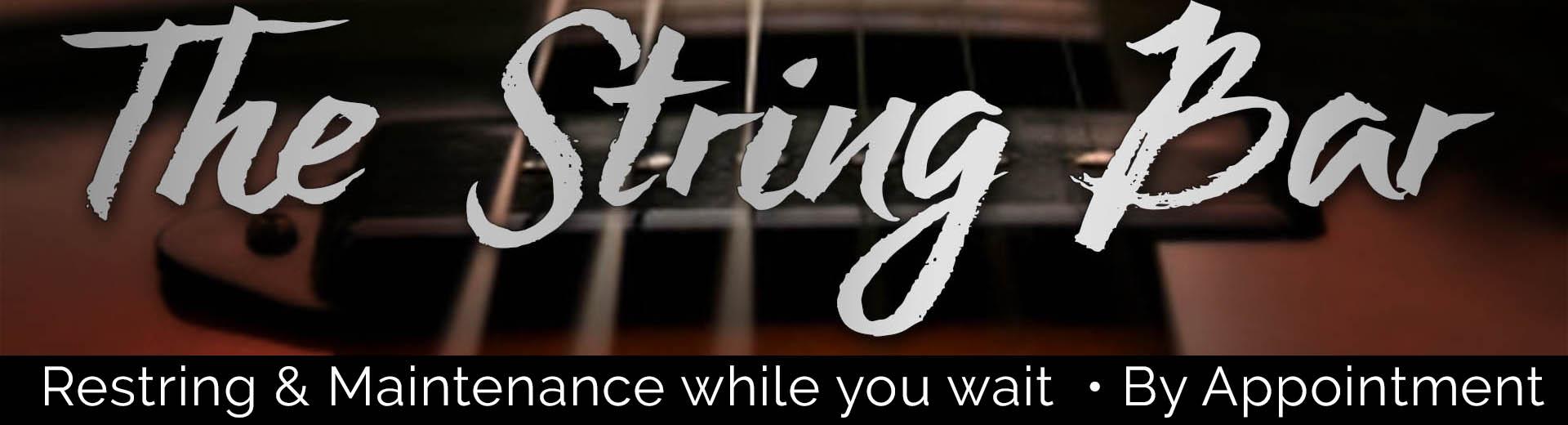String Bar Banner