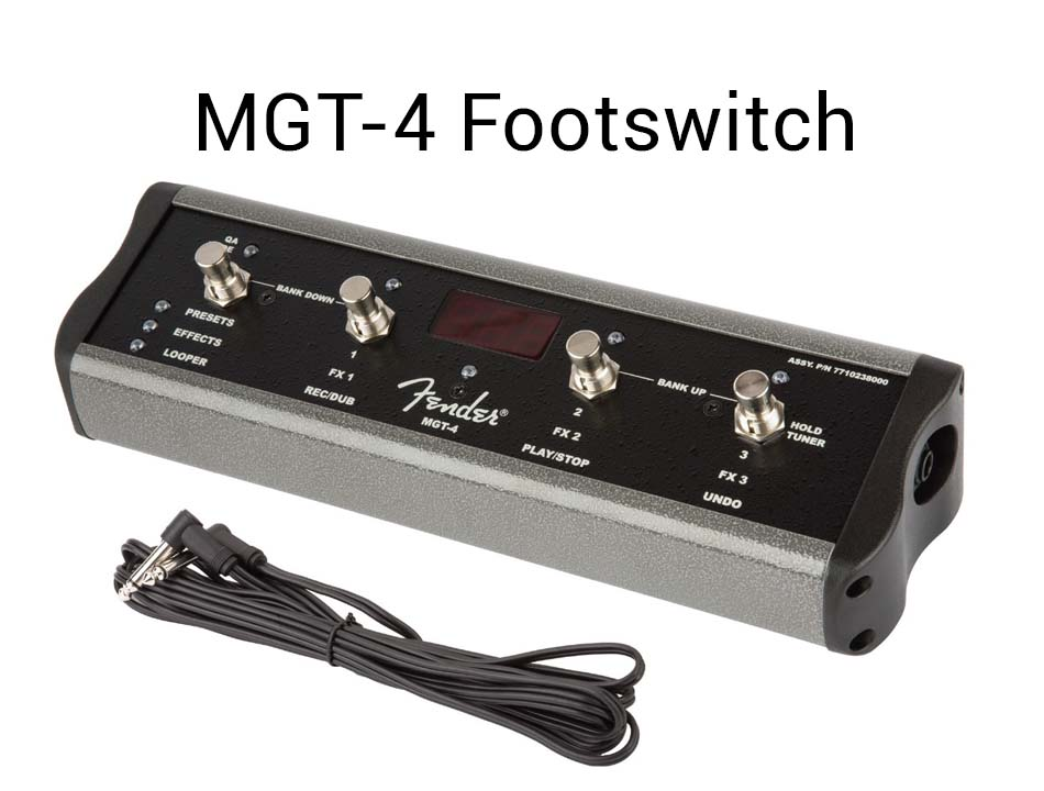 MGT 4 Footswitch