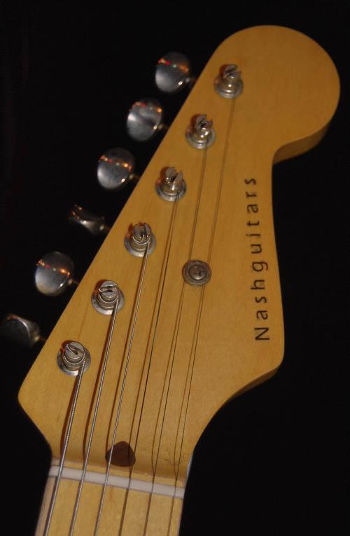 Nash GuitarHeadstock